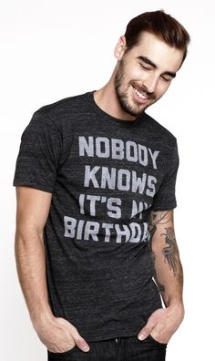 Announcement BIRTHDAY Tee!