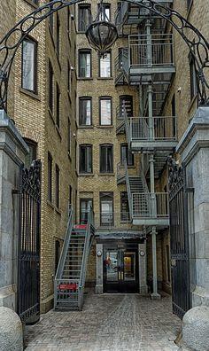 Doors downtown Montreal