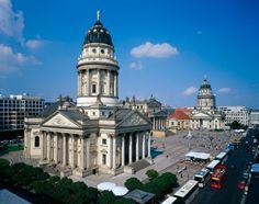 Berlin, Gendarmenmarkt ~ is the beautiful square in the middle of the Mitte quarter at the center of Berlin that includes the French Cathedral, the Konzerthaus, the German Cathedral.