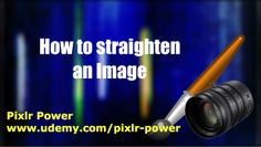 This video looks at how to straighten an image in Pixlr using the Free Transform tool.  Pixlr Power: www.udemy.com/pixlr-power #pixlr #tutorials  #photoediting