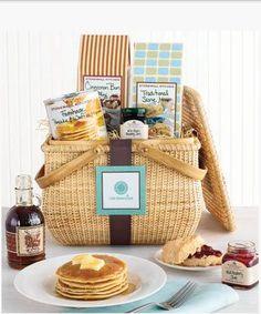 DIY Gift Basket Ideas  - Breakfast & Brunch Basket - Click pic for 25 DIY Christmas Gift Ideas