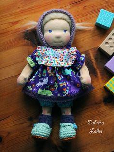 Annie, 30 cm waldorf doll by Fabrika Lalka on Dawanda