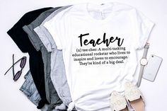 teacher - teacher gifts - tshirt - graphic tee - thank you teacher - gifts for teachers - teacher tshirt - women