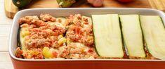 Szaftos, karcsúsító hamis lasagne – Ugyanolyan finom, mint az igazi - Receptek   Sóbors Zucchini, Food And Drink, Vegetables, Foods, Random, Lasagna, Food Food, Food Items, Vegetable Recipes
