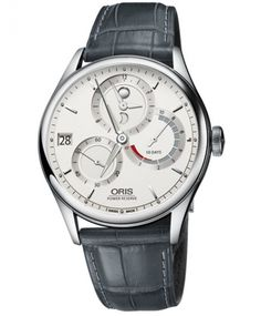 オリス アートリエ キャリバー112 112 7726 4051DGY (カーフ/グレー) 腕時計 メンズ 手巻き Oris Artelier Calibre112 - IDEAL