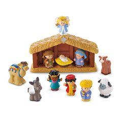 "Fisher-Price Little People Nativity Set - A Little People Christmas - Toys""R""Us Christmas Nativity Set, Baby Christmas Gifts, Christmas Toys, A Christmas Story, First Christmas, Nativity Sets, Christmas 2016, Christmas Stuff, Xmas Gifts"