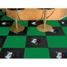 Minnesota Timberwolves NBA Carpet Tiles (18x18 tiles)