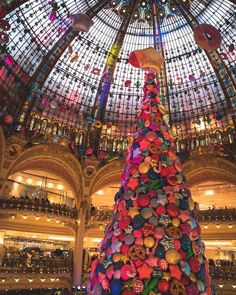 Gallery Lafayette has the most amazing Christmas decorations wau  #topeuropephoto #topparisphoto #topfrancephoto #gf_france #pariscartepostale #IgersParis #francevacations #parisjetaime #parismaville #igersfrance #ig_paris #pariscityvision #sky #super_france #visitlafrance #LOVES_FRANCE_ #paris #Geo_plc #paris #hello_france #france4dreams #pariscartepostale #hello_worldpics #architecture #winter #MonHiveràParisRegion #gallerylafayette #lafayette #christmasdecor #allcolours