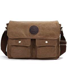 Eshow bolsos,marcas de bolsos de tela de bolsos baratos de bolsos bandolera de lona para hombre