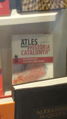 """""""Atles manual d'Historia de Catalunua"""" de Victor Hurtado Cuevas. Dalmau Editors."""