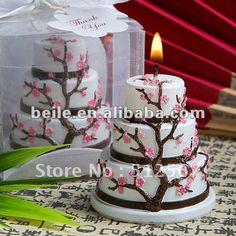Cherry Blossom Cake Candle Wedding Favor_Wedding Gifts_Wedding Souvenirs LZ025 on AliExpress.com. $99,999.00