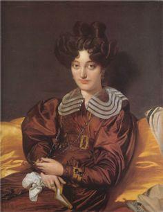 Madame Marcotte de Sainte-Marie - Jean Auguste Dominique Ingres