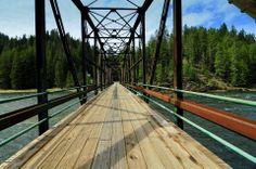 Swiftwater Bridge, Selway River, Idaho