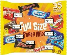 Fun size sweet syns slimming world astuce recette minceur girl world world recipes world snacks Slimming World Shopping List, Slimming World Sweets, Slimming World Syns List, Slimming World Survival, Slimming World Puddings, Slimming World Syn Values, Slimming World Diet Plan, Slimming World Recipes Syn Free, Shopping Lists
