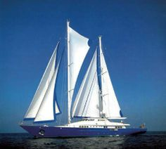BLUE GOLD IS THE LARGEST SAILING YACHT BUILT BY THE FAMOUS BENETTI SHIPYARD