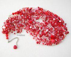 Вяжу и продаю бусы. Crochet and sell necklace. Бисер, камни, пряжа, мононить. Beads, gemstones, yarn, monofilament. * * В наличии и на заказ. In stock and on order. Заказать-Спросить/Buy-Enquire: WhatsApp/Viber 921-9132526 * * Стоимость колье 1000 руб. (бисер, мононить) и 800 руб. (бисер, пряжа), без учета доставки. The cost of the necklace 1000 rub. (beads, monofilament) and 800 rub. (beads, yarn), excluding delivery.