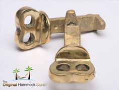 This hammock hanging and fixing set is the perfect complement to our elegant range of hammocks with its highly polished finish. A great finishing touch. Hammock Accessories, Hammocks, Brass Metal, Polished Brass, Cement, Range, Kit, Elegant, Beautiful
