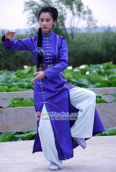 Kung Fu Competition Uniform Tai Chi Uniforms Martial Arts Suit ...