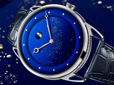De Bethune never ceases to amaze me with their blue dials and this is probably my personal favorite of them all. New model called DB25L Milky Way and you can see why...Find out more about this beauty in our latest article...