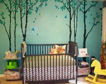 This would work for a Pocahontas or peter pan nursery.