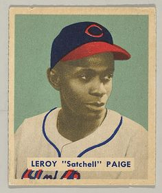 """The Metropolitan Museum of Art - Leroy """"Satchell"""" Paige, Pitcher, Celeveland Indians, from a series of 240 (no. 224)"""