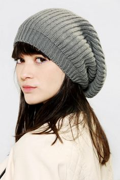 Deena & Ozzy Super-Slouchy Beanie #urbanoutfitters