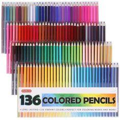 Shuttle Art 136 Colored Pencils