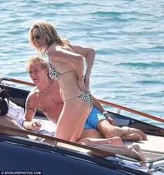 Go wild in a leopard print bikini by Elizabeth Hurley Beach #DailyMail  Click 'Visit' to buy now