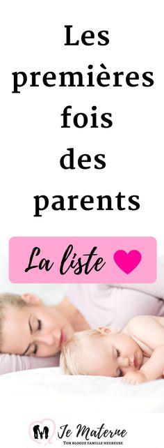 À lire! Les premières fois des parents, LA liste...    http://jematerne.com/2018/01/29/les-premieres-fois-des-parents/
