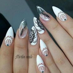 50 Pretty Nail Art Design Easy 2019 You Can Try As A Beginner 50 Pretty Nail Design Easy 2019 – Fashion & Glamour Trends 2019 – Katty Glamour Sparkle Nail Designs, Funky Nail Designs, Chrome Nails Designs, Pretty Nail Designs, Simple Nail Art Designs, Pretty Nail Art, Easy Nail Art, Nail Art Diy, Chunky Glitter Nails