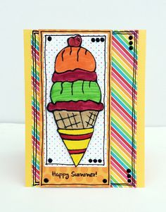 Happy Summer - Scrapbook.com