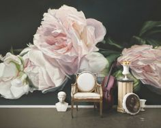 Thomas Darnell: Peonies Pink install  http://areaenvironments.com