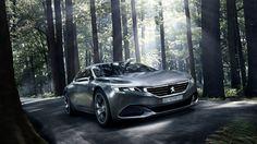 Peugeot Exalt, electric cars, concept, Peugeot, review, test drive, forest