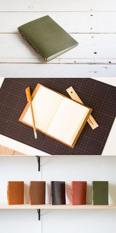 leather notebook | Duram Factory