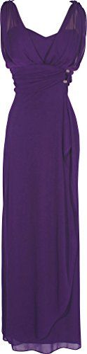 Chiffon Sleeveless Faux Wrap Bridesmaid Long Gown Prom Dress, XL, Eggplant PacificPlex http://www.amazon.com/dp/B00AXDAROS/ref=cm_sw_r_pi_dp_PSS4tb0P19ARW