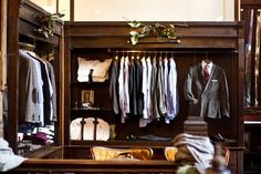 I wish I had a closet like this.