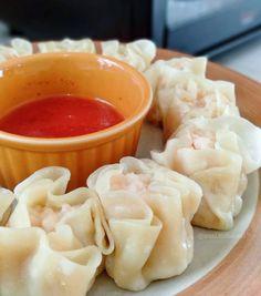 Siomai, Breakfast Recipes, Dessert Recipes, B Food, Asian Recipes, Ethnic Recipes, Yummy Food, Tasty, Indonesian Food