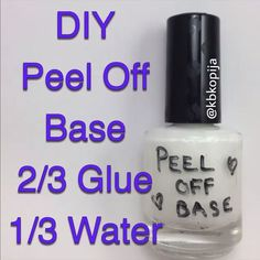 "2,177 Likes, 8 Comments - Kik: Totallychic (@chic.videos) on Instagram: ""▪️ DIY peel off base coat for your perfect mani! ▪️ - Vid Credit: @kbkopija - Double tap ❤️ and…"""