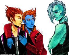 Heath Burns, Holt Hyde,  and Gil Webber. Monster high. ♡