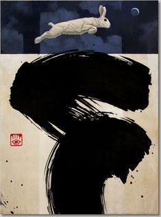 Craig Kosak - Big Brush Abstracts - 2016