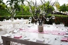 Have an outdoor reception! This is a stunning setup! Or, celebrate the next day with your guests with a wedding brunch #NowAmberPuertoVallarta #Mexico #DestinationWedding