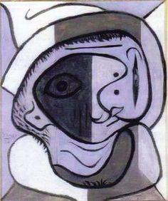 1926 Tête  pablo picasso
