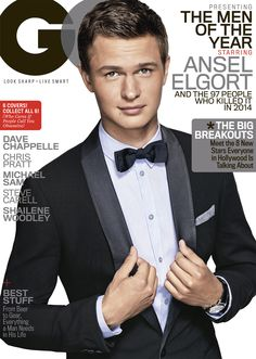 Brace Yourself For Ansel Elgort's Ridiculously Handsome GQ Cover