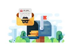 Anonimous Email Features Promo by Evgeniy Dolgov #Design Popular #Dribbble #shots