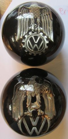 German Eagle on VW Logo Shift Knob - HouseOspeed - Hot Rod Shift Knob