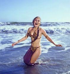 10 Fotografías vintage de Carrie Fisher promocionando El Retorno Del Jedi en 1983