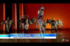 Today it was announced 'The Lion King' musical is the most successful work in any media.
