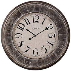 b1ce1a99659e Bulova Restoration Wall Clock, 36