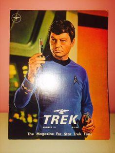 Items similar to Trek Special : The Magazine for Star Trek Fans Issue No. 13 (March on Etsy For Stars, Star Trek, Fans, Magazine, Trending Outfits, Etsy, Vintage, Starship Enterprise, Magazines