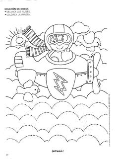 Crafts,Actvities and Worksheets for Preschool,Toddler and Kindergarten.Lots of worksheets and coloring pages. Preschool Writing, Preschool Learning Activities, Preschool Activities, Community Helpers Worksheets, Kids Math Worksheets, Transportation Worksheet, Transportation Theme, Coloring Books, Coloring Pages
